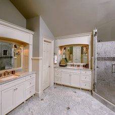 Traditional Bathroom by GREAT FALLS CONSTRUCTION