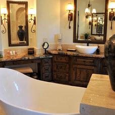 Mediterranean Bathroom by Sanders Architecture & Design