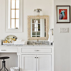 Eclectic Bathroom by Tracery Interiors