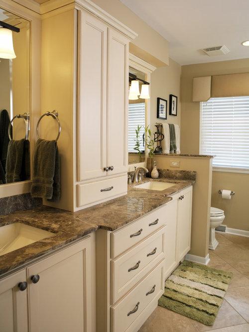 Cream Bathroom Vanity Home Design Ideas Pictures Remodel