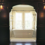 Georgian Style Traditional Bathroom Minneapolis By
