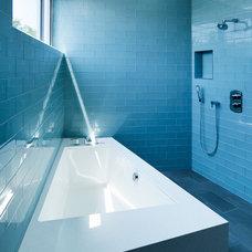 Modern Bathroom by Walker Workshop