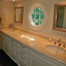Traditional Bathroom by Artisan Kitchens LLC