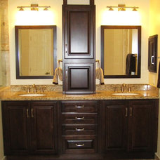 Traditional Bathroom by DESIGNER KITCHEN & BATH