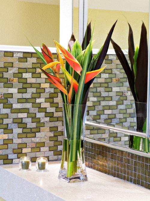 Dried Flower Bathroom Decor Houzz