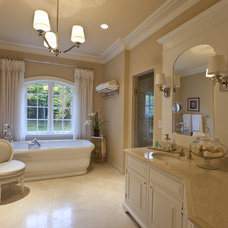 traditional bathroom by Motif
