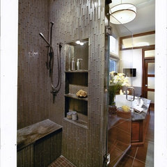 eclectic bathroom by Virtue Tile