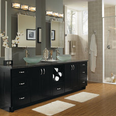Contemporary Bathroom by MasterBrand Cabinets, Inc.