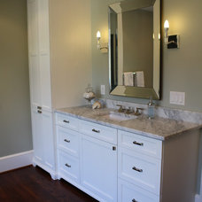 Eclectic Bathroom by Hardwood Creations