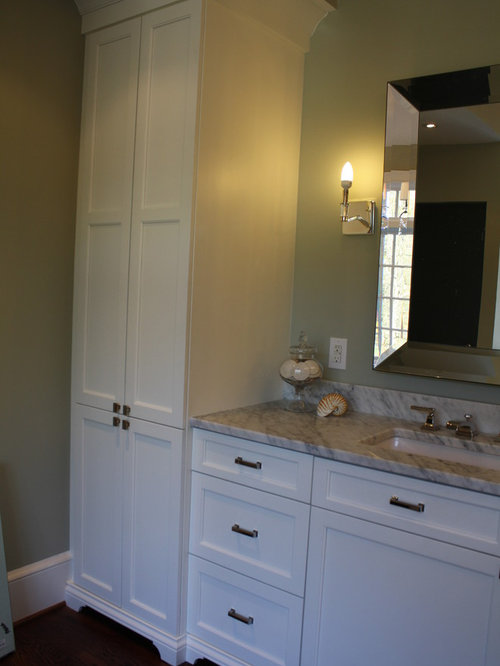 bathroom linen cabinet ideas  pictures  remodel and decor Linen Closets for Bathrooms bathroom linen closet door ideas
