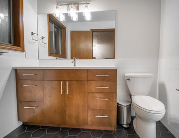 Matching Master and Guest Bathroom