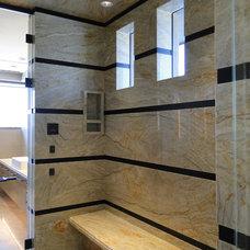 Contemporary Bathroom by David J. Wade Inc, Architect