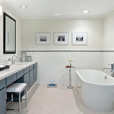 Contemporary Bathroom by Harmony Sense Interiors