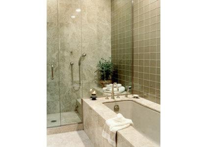 Modern Bathroom by Bruno Kearney Architects, LLP