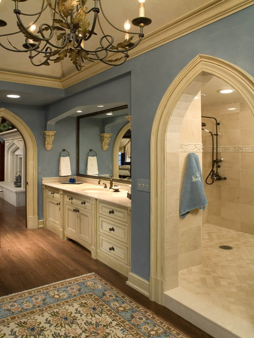 best bathroom with beige cabinets design ideas remodel