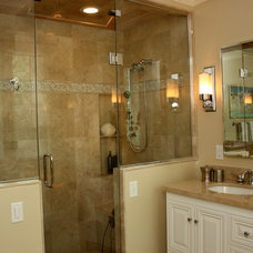 Traditional Bathroom by MATTHEW KRIER - Design Group Three - Milwaukee