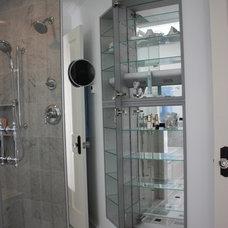 Modern Bathroom by MATTHEW KRIER - Design Group Three - Milwaukee