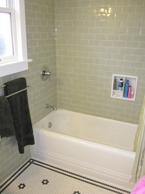 Subway Tile Border Ideas Pictures Remodel And Decor
