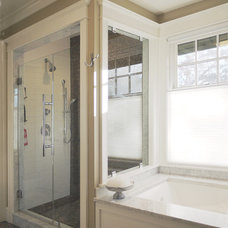 Craftsman Bathroom by Rill Architects