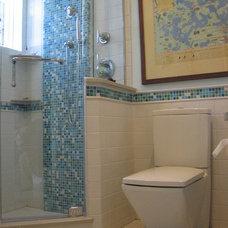 Modern Bathroom by Abode Design Solutions