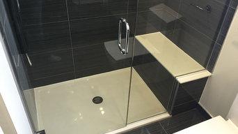 May 2015 - Streamwood Full bathroom Project