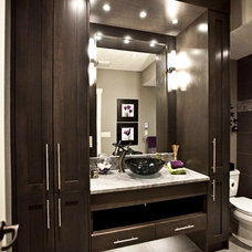 Transitional Bathroom by Urban Abode