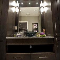 Transitional Bathroom by Urban Abode