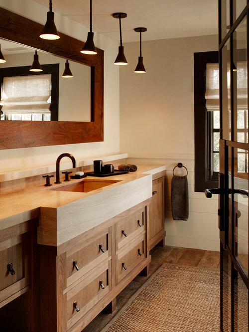 Moderne badezimmer holz ideen beispiele f r die for Badgestaltung holz