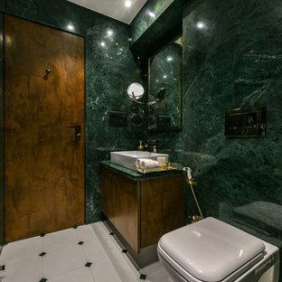 Example of a trendy bathroom design in Mumbai