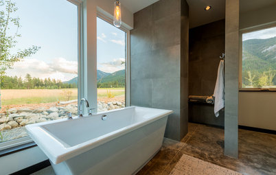 Houzz Tour: Cascades Retreat Looks to the Area's Mining History