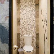 Asian Bathroom by Just Jill! Interiors