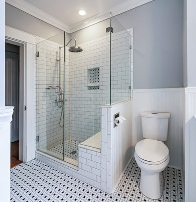 Traditional Bathroom by Post and Lintel Remodeling