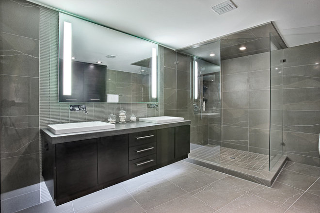 Contemporary Bathroom by McClure Contracting, Inc.