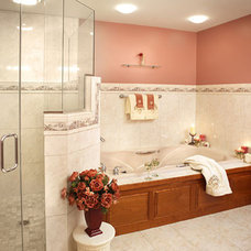 Traditional Bathroom by MCCOY BUILDERS