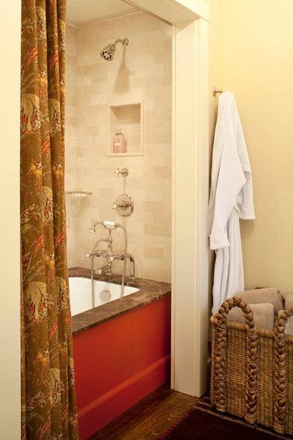 Rustic Bathroom by Ashley Campbell Interior Design