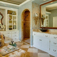 Traditional Bathroom by McCroskey Interiors