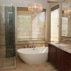 Traditional Bathroom by ModaScapes Interior Design