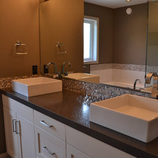 Contemporary Bathroom by McGonigal Signature Homes