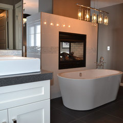 modern bathroom by McGonigal Signature Homes