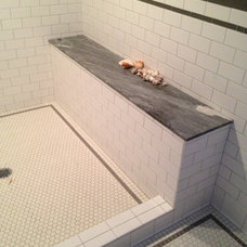 Traditional Bathroom by Charter Construction