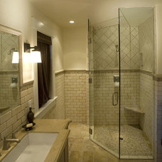 Traditional Bathroom by McKean Construction