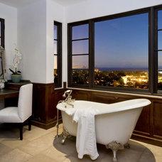 Mediterranean Bathroom by Charles A. Samson, Architect