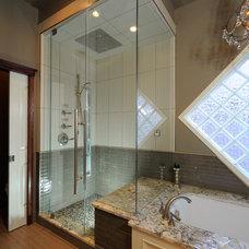 Traditional Bathroom by Kurmak Builders