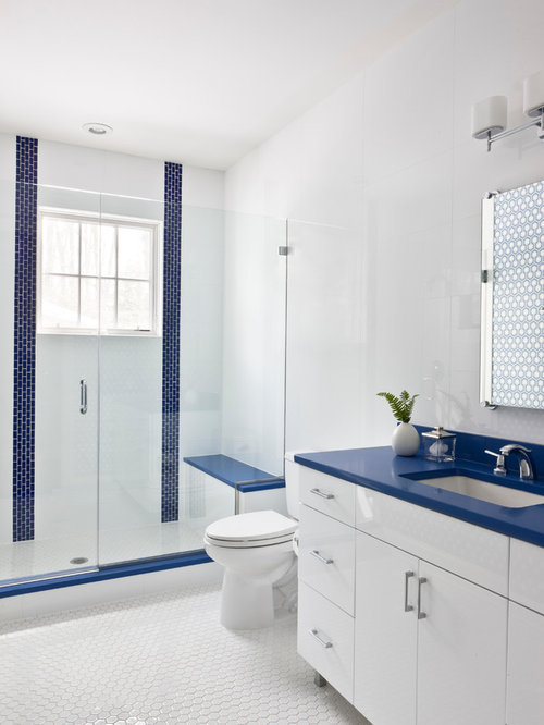 SaveEmail. 40K Red White Blue Bathroom Design Ideas  amp  Remodel Pictures   Houzz
