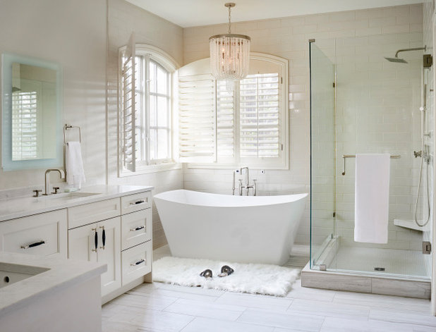 Transitional Bathroom by TruDesign