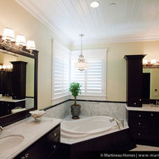 Traditional Bathroom by Martineau Homes