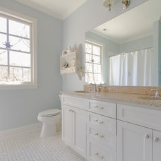 Traditional Bathroom by Abbey Construction Company, Inc.