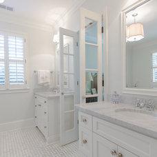 Traditional Bathroom by Abbey Construction Company, Inc.