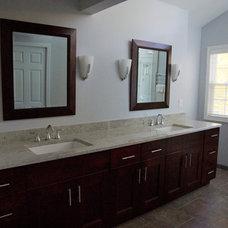Traditional Bathroom by Solatect Design + Build, LLC