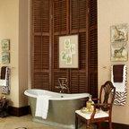 1920s Mediterranean Rehab Traditional Bathroom
